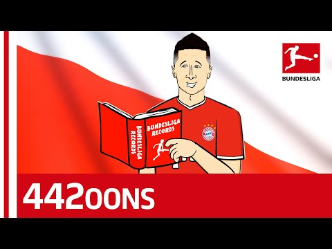 Lewandowski 40 Goals Record Song - Powered by 442oons