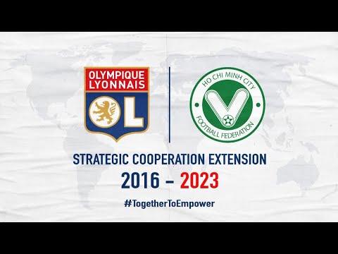 Prolongation du partenariat OL / Ho Chi Minh-Ville | Olympique Lyonnais