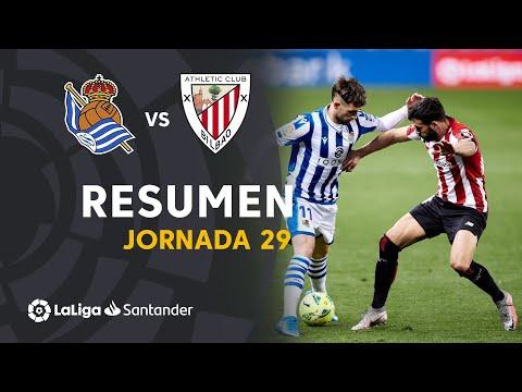 Resumen de Real Sociedad vs Athletic Club (1-1)