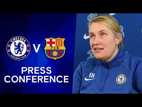 Emma Hayes Live Press Conference + Live Training: Chelsea v FC Barcelona | Champions League Final