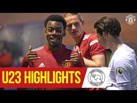 U23 Highlights | Derby 2-6 Manchester United | The Academy