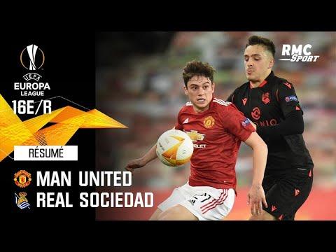 Résumé : Manchester United (Q) 0-0 Real Sociedad - Ligue Europa 16e de finale retour