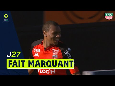Le Lorientais Laurienté renverse St-Etienne et offre la victoire aux Merlus! / 2020-2021