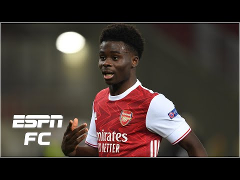 Arsenal's win vs. Benfica: Aubameyang gets the goals but is Bukayo Saka their best player? | ESPN FC