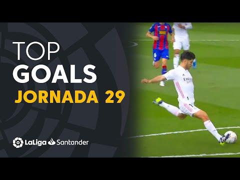 Todos los goles de la jornada 29 de LaLiga Santander 2020/2021