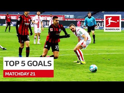 Top 5 Goals • Haaland, Silva & Co.   Matchday 21 - 2020/21