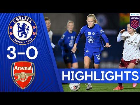 Chelsea 3-0 Arsenal | Pernille Harder Scores Brace To Seal Derby Win | Women's Super League